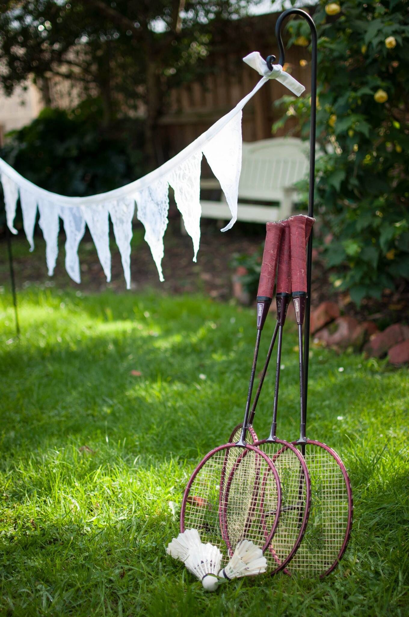 Badminton Weddingbirthdayscorporate partieslawn games for hire