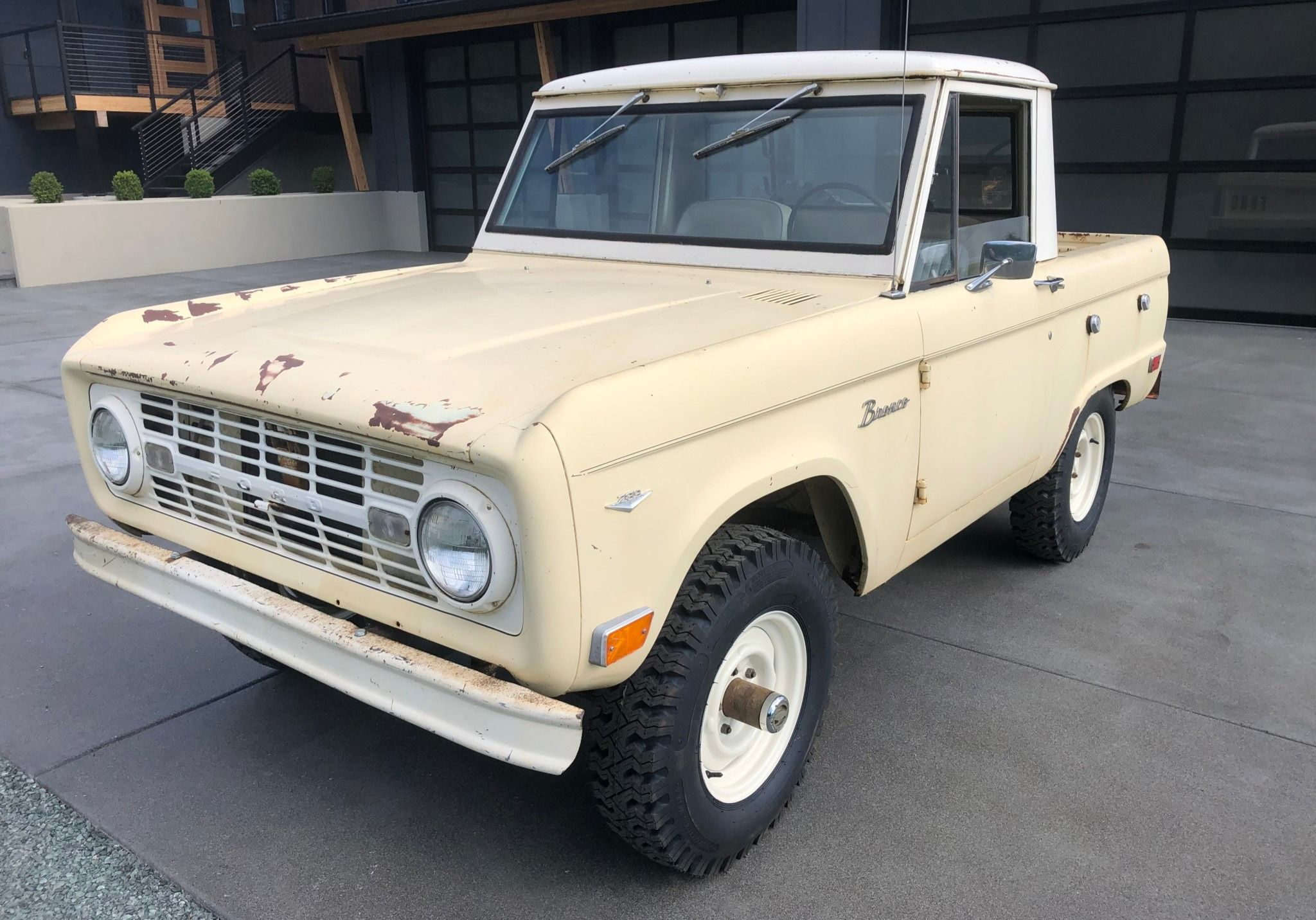1968 Ford Bronco Pickup Ford Bronco Classic Ford Broncos Cars
