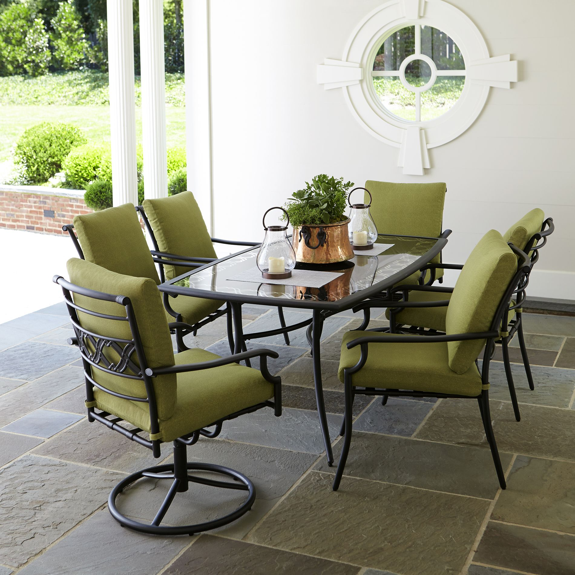 celebrate in style with the garden oasis rockford 7-piece outdoor