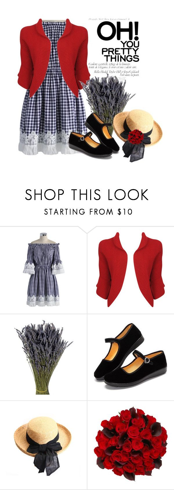 """""""Gingham2"""" by justange ❤ liked on Polyvore featuring Chicwish and Forever 21"""