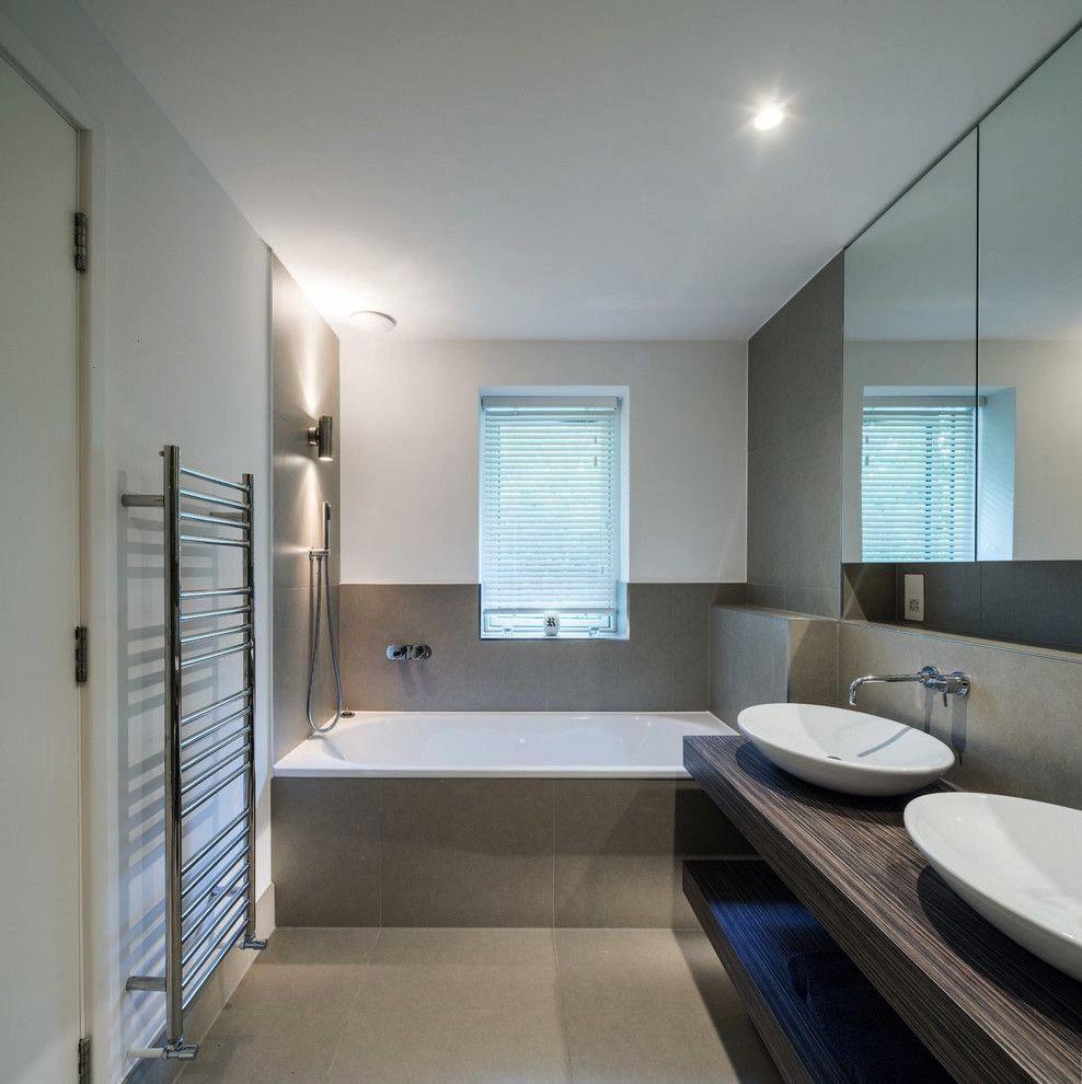 Towelrackbathroomunderwindow Contemporary Bathroom Schemes Bathroo Colour Scheme In 2020 Bathroom Color Schemes Modern Bathroom Colours Popular Bathroom Colors