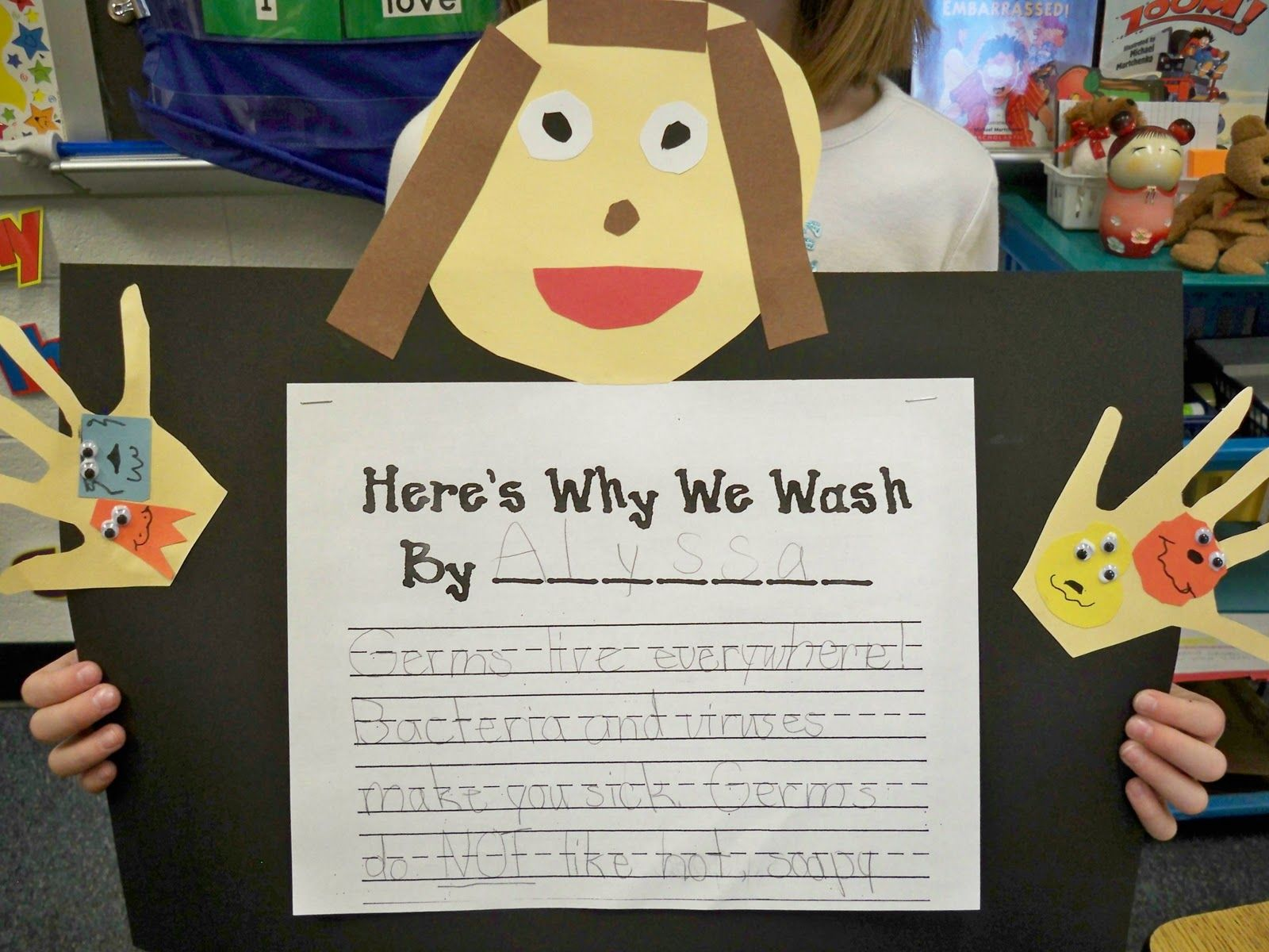 germs writing activity