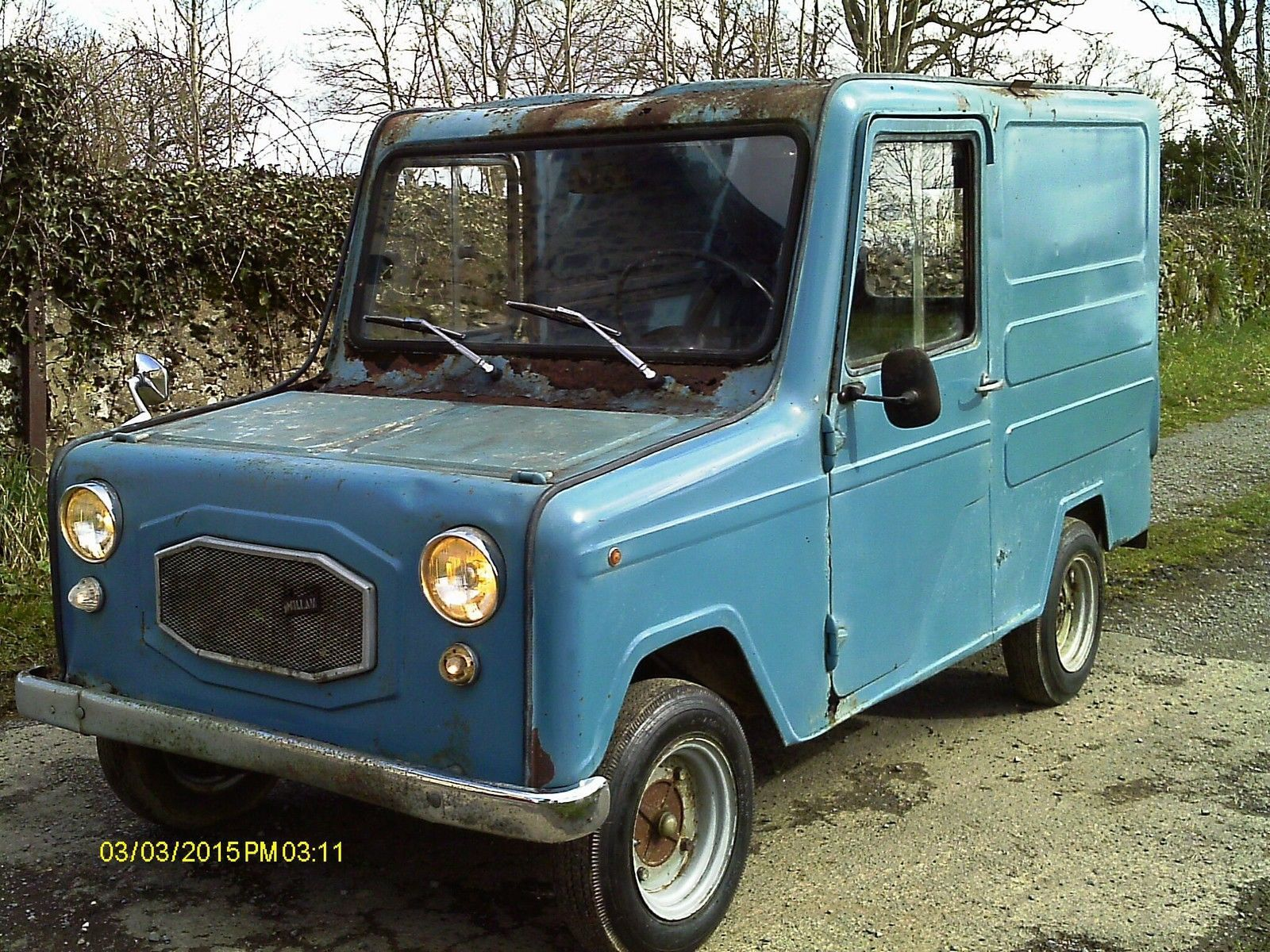 125cc 1980 Lambretta William Voiturette Postman Pat Van