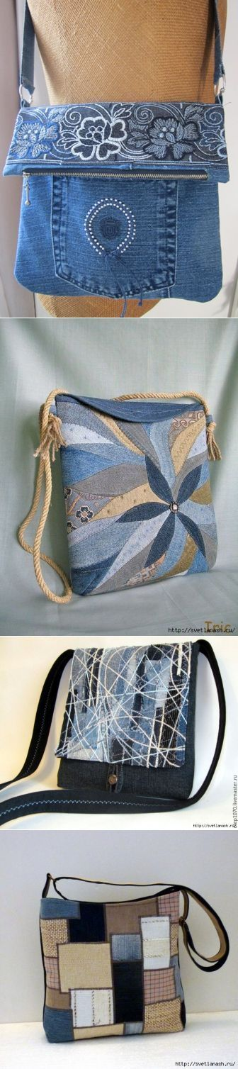 Сумочки из старых джинсов. Много идей для вдохновения.. - bags & purses, bag purchase, side clutch bags *sponsored https://www.pinterest.com/bags_bag/ https://www.pinterest.com/explore/bag/ https://www.pinterest.com/bags_bag/radley-bags/ http://www.calvinklein.us/shop/en/ck/search/mens-bags