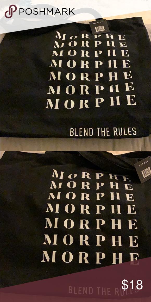 morphe tote bag