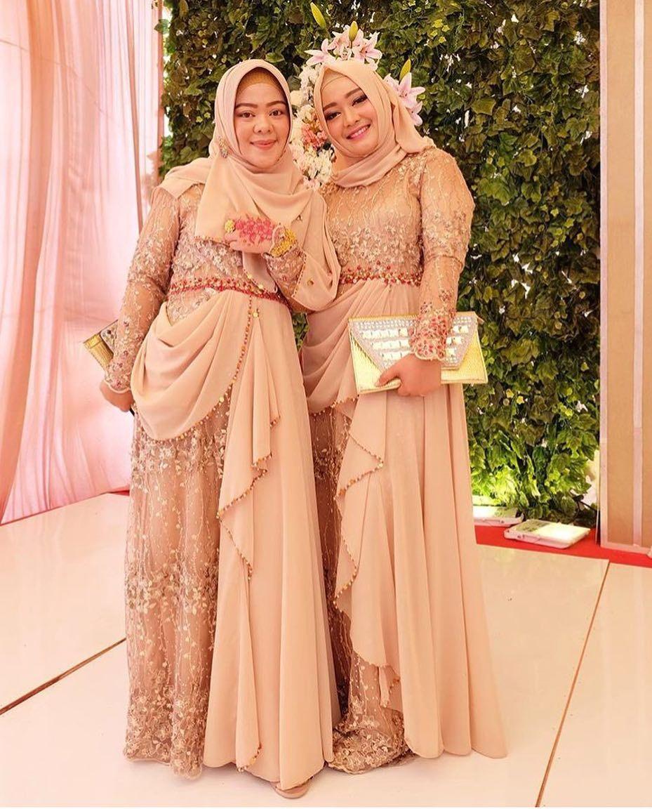 gaun pesta muslimah 10  gaun pesta muslimah terbaru  gaun
