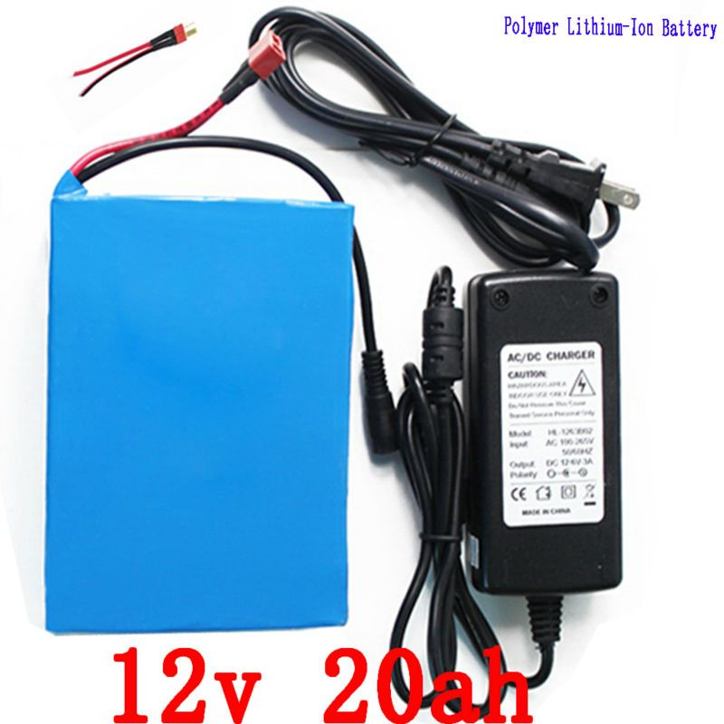 12v 20ah Lithium Ion Battery 12v 20a Discharge For Power Baby Child Electric Motorcycle Golf Trolly Cart Electric Bike Battery Electric Bicycle Battery Battery