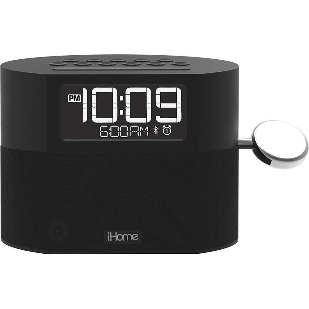 iHome FM DualAlarm Clock Radio with Apple Watch Charger