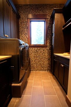 584 Discovery Hill Drive - rustic - laundry room - denver - Pinnacle Mountain Homes