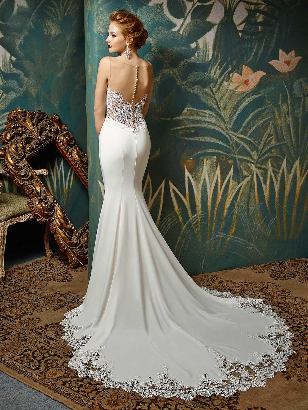 Mermaid Wedding Dresses Kent : Back wedding hair bells gowns bridal dream dress