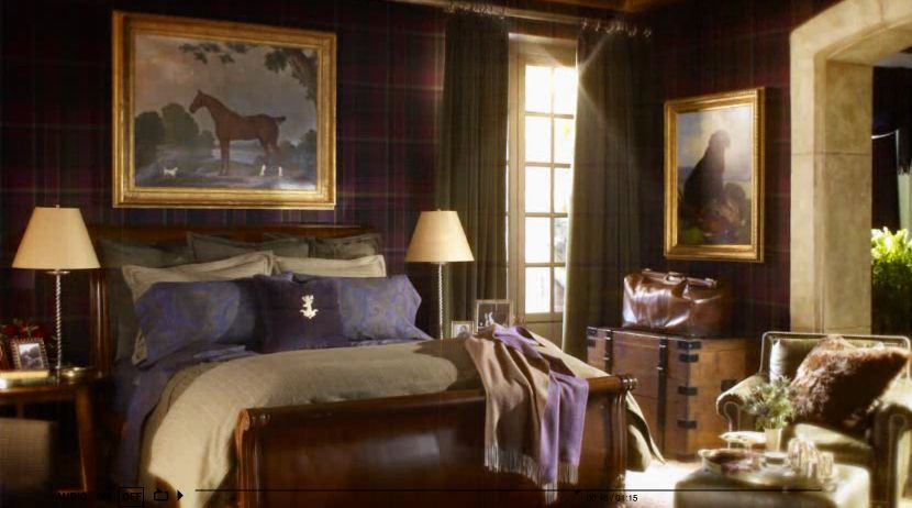 Ralph Lauren Home Brookfield Collection Equestrian