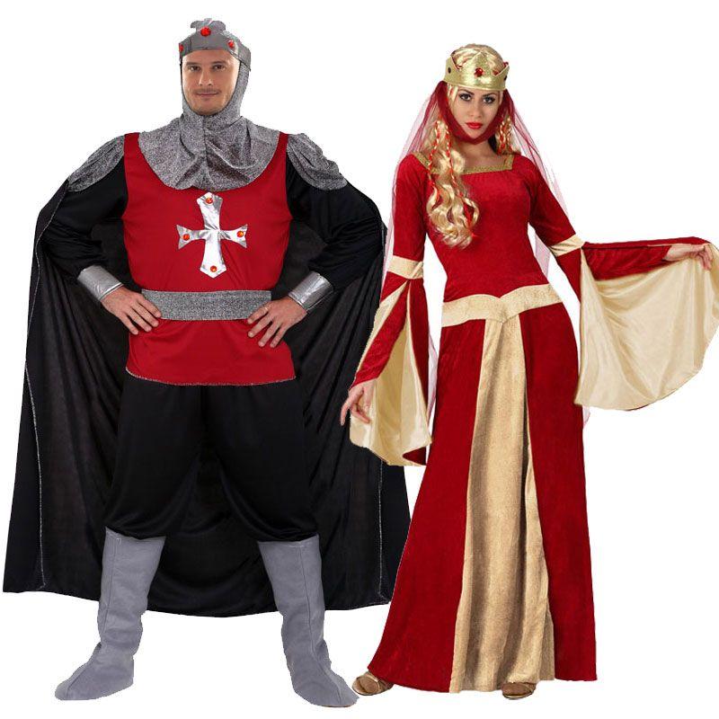 Pareja disfraces de medievales parejas disfraces for Disfraces parejas adultos