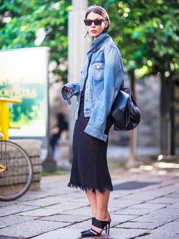 83bd67ac00d How to Wear an Oversize Denim Jacket