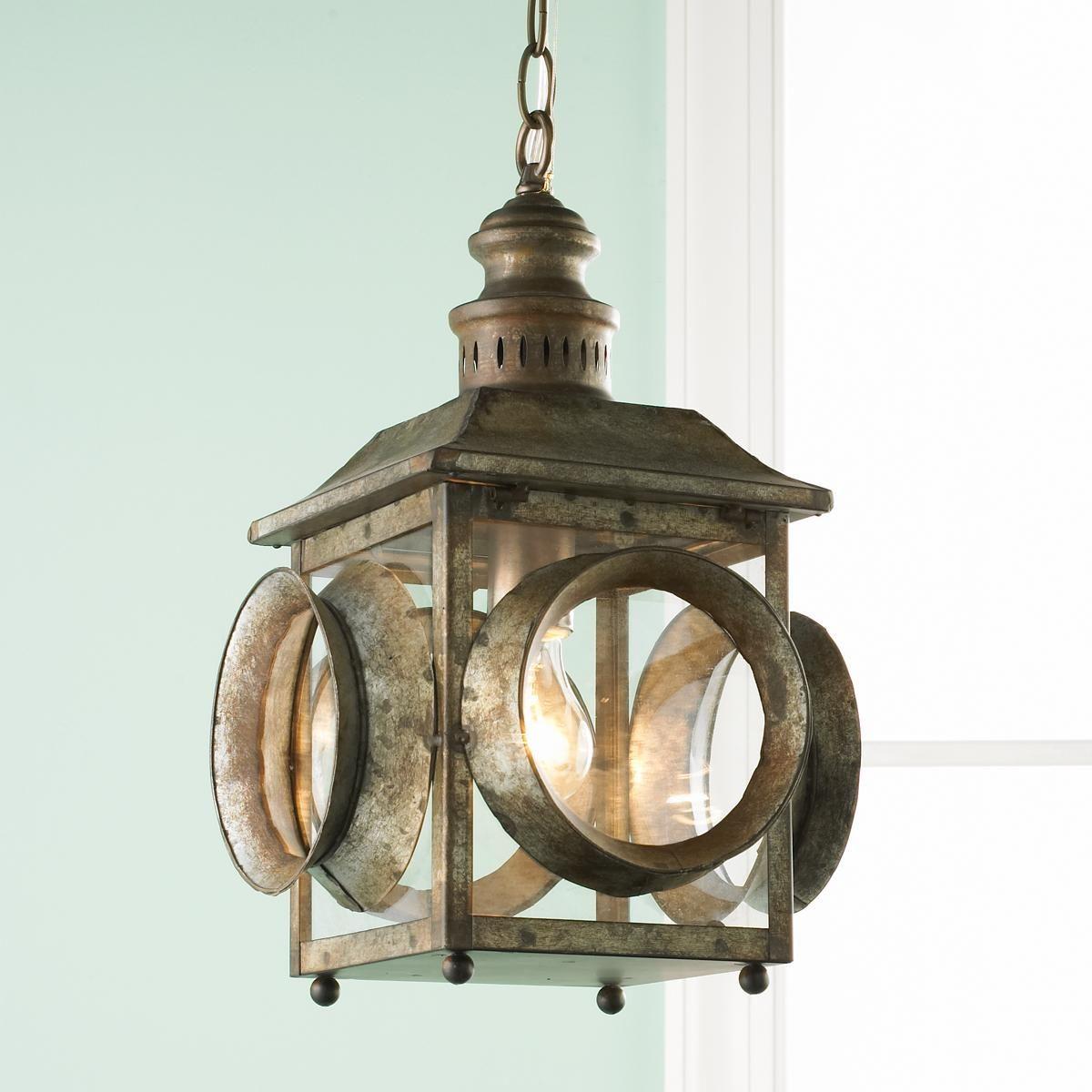 Porthole hanging lantern hanging lanterns beach and kitchens porthole hanging lantern arubaitofo Gallery
