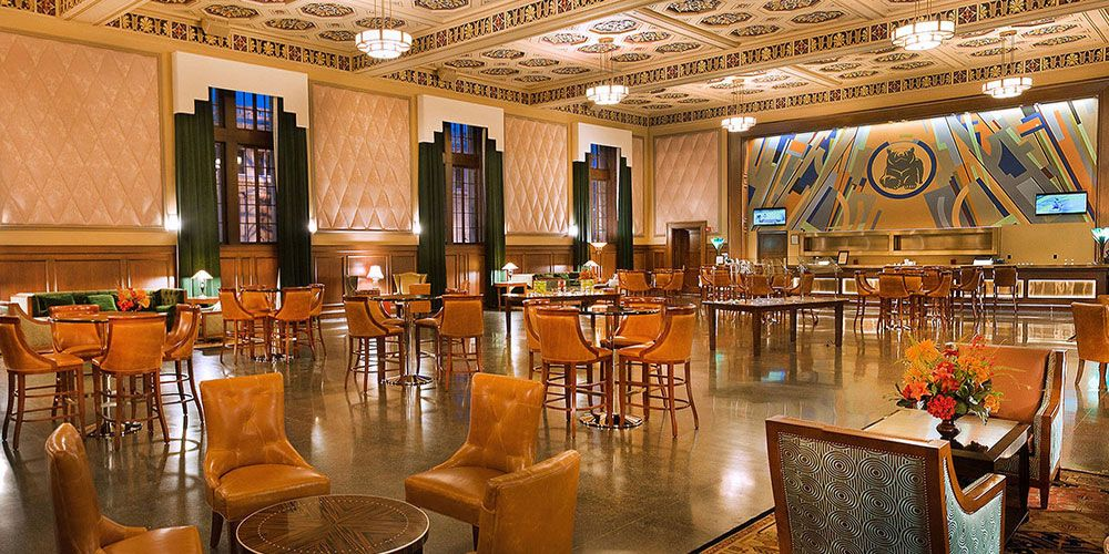 Peabody Opera Lounge in St. Louis (cocktail 325 - serves Pepsi!)