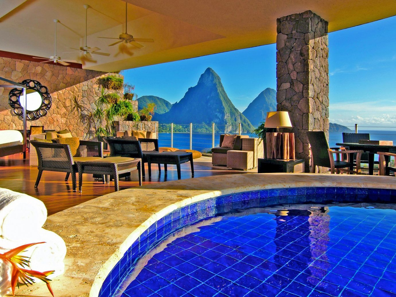 Jade Mountain Resort St Lucia Caribbean  Jade mountain