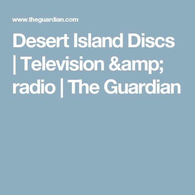 Desert Island Beach: Television & Radio