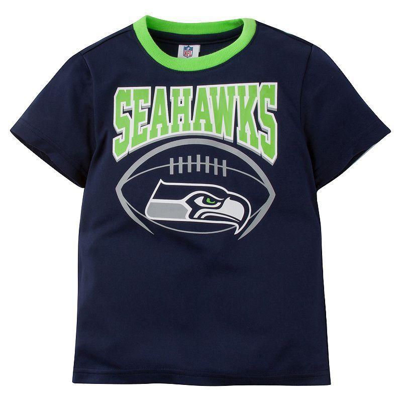 Baby Seattle Seahawks Team Colors Tee Seahawks team