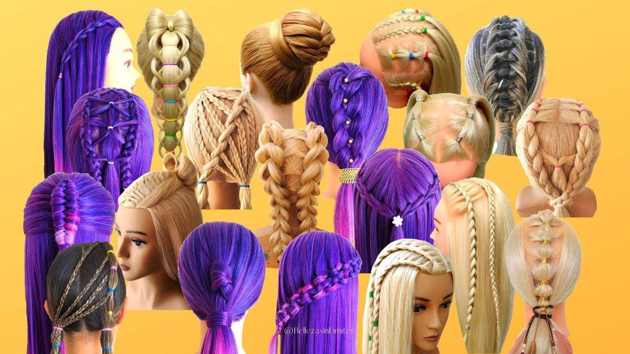 20 Peinados Fáciles con Trenzas para Fiestas, Graduaciones o Bodas | Belleza sin Límites