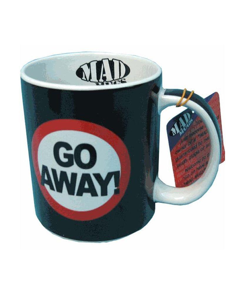 Go away mug funny novelty mugs novelty mugs mugs