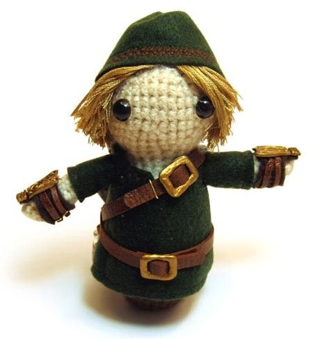 Knitted Link Doll ^^ <3
