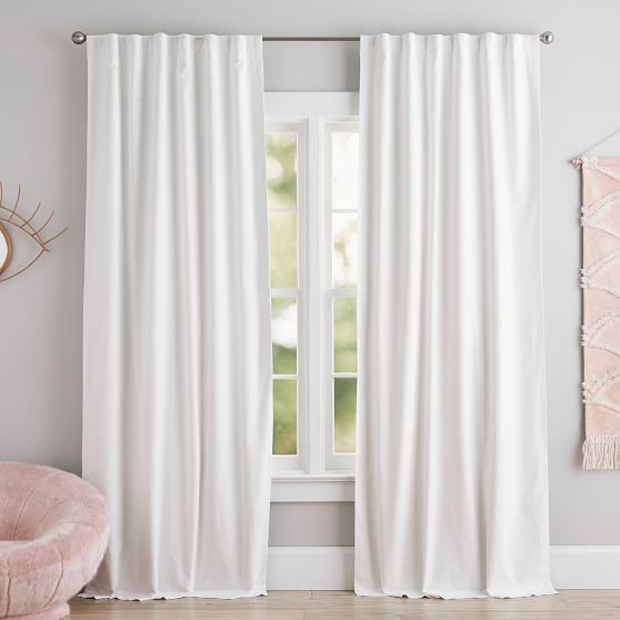 Cotton Linen Blackout Curtain In 2020 Linen Blackout Curtains