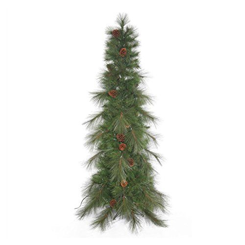 Vickerman 373125 12 X 51 Big Cascade Pine With Pine Cones Christmas Tree G154190 To Vie Green Christmas Tree Christmas Tree Shop Realistic Christmas Trees