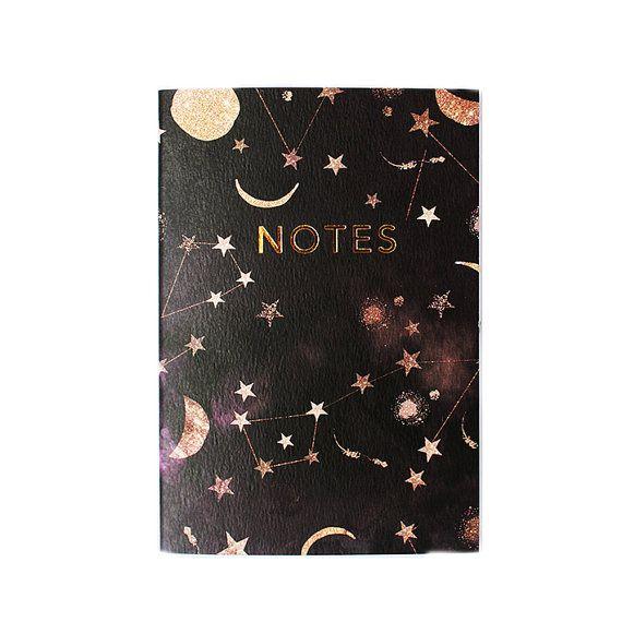 Constellation stars notebook