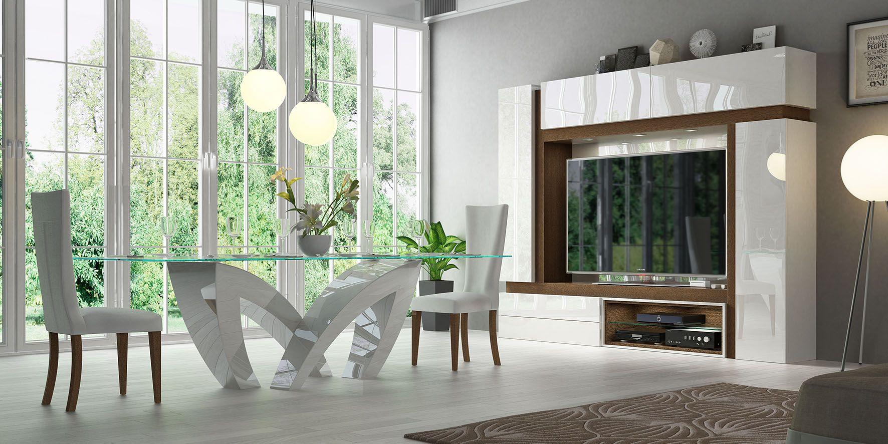 Compacto Tv Con Mesa De Dise O A Juego Un Ambiente Muy Coqueto  # Muebles Coquetos