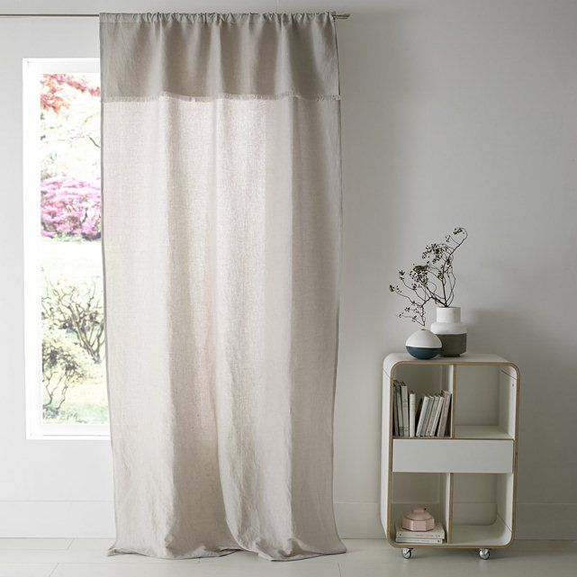 rideau esprit boh me chic tifenn la redoute interieurs chambre pinterest la redoute. Black Bedroom Furniture Sets. Home Design Ideas