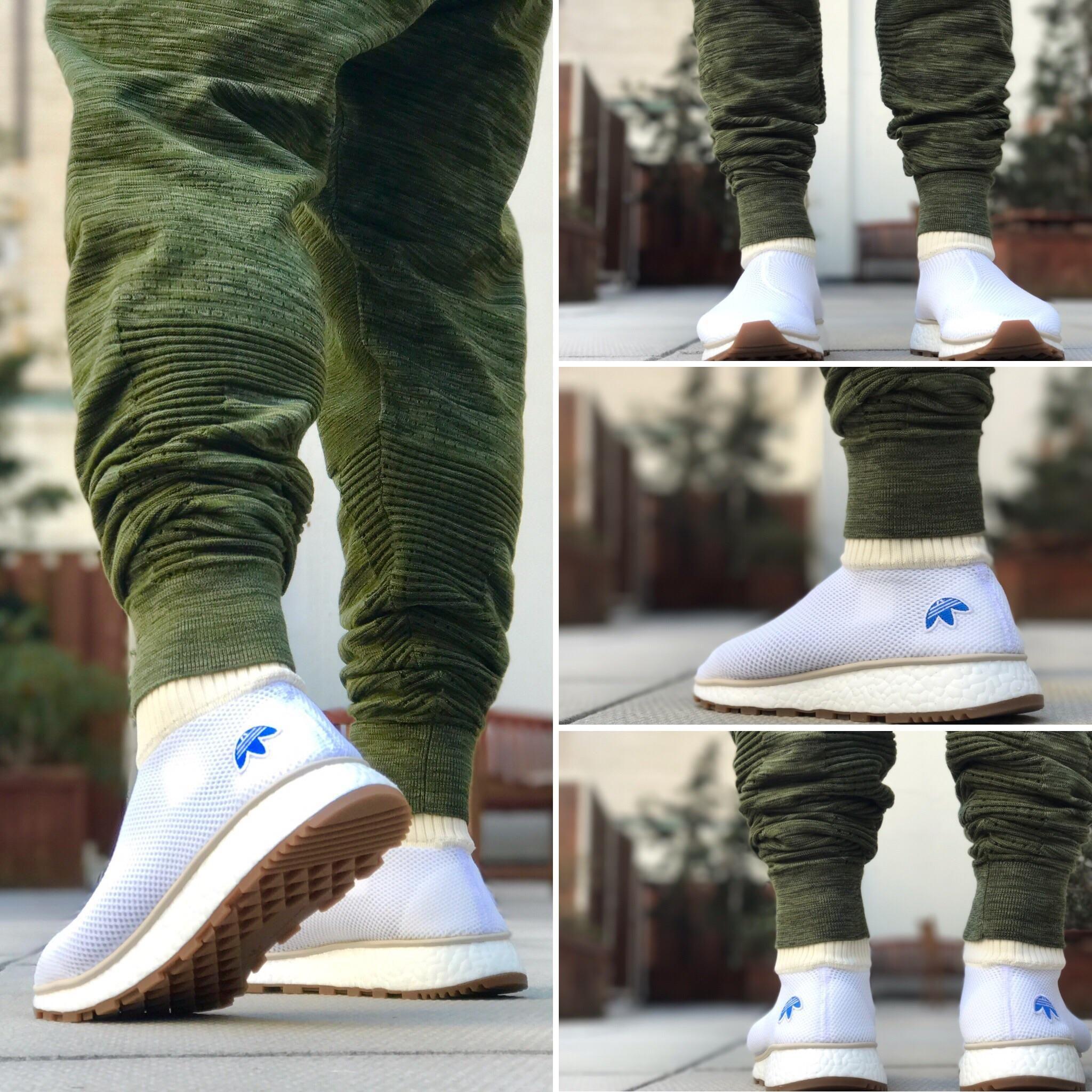 chaussure adidas originals by alexander wang run clean