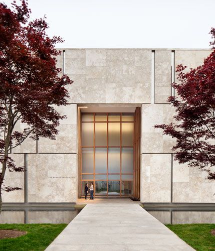 The Barnes Foundation Barnes Foundation Modern House Design