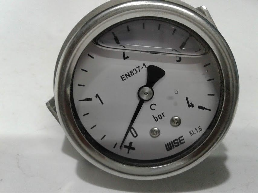 Details About New Wise Kl 1 6 En 837 1 Bar Pressure Gauge En8371 Marine Store Spare Pressure Gauge Gauges Bar