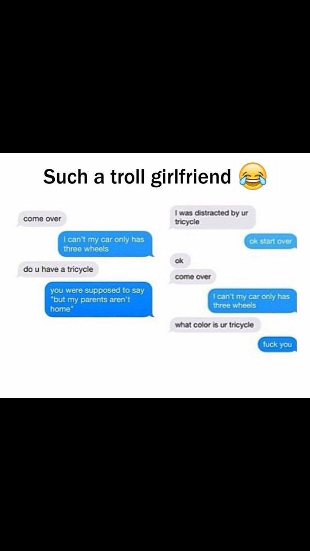Lol! I love how they start over the whole conversation! That's seriously funny
