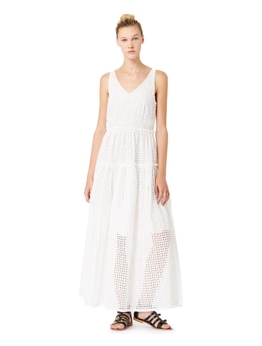 Longlength dress white iblues free delivery zeby kupit pinterest
