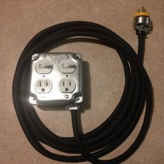 DIY Extension Cord With Built in Switch Safe, Quick and