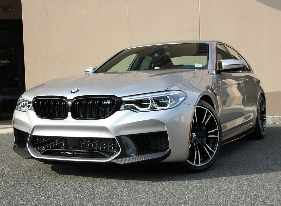 Ladies And Gentlemen The 2018 Bmw M5 In A Striking Rhodonite Silver On Aragon Brown Full Merino Leather Combo This M5 Is The Definition Of A Performance Luxury