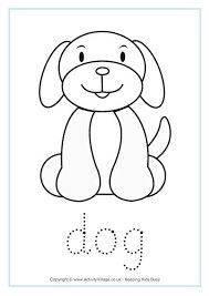 Pin By Cindy Cyriaque On Crafts Dog Coloring Page Dog Template
