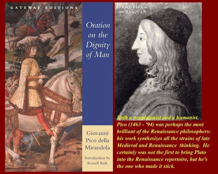 Count Giovanni Pico della Mirandola was an Italian Renaissance ...