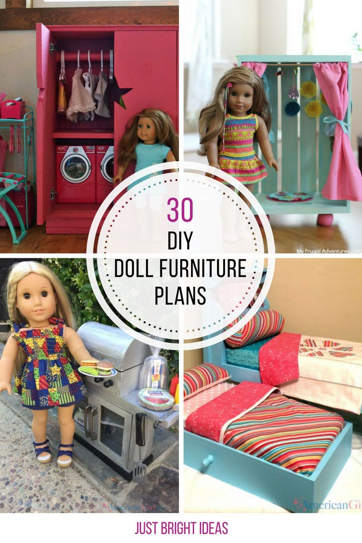 30 Diy American Girl Furniture Projects You Need To See American Girl Furniture American Girl Doll House Doll Furniture Plans