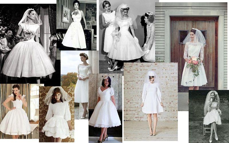 50s 60s wedding dress styles   wedding retro 50s 60s theme ...