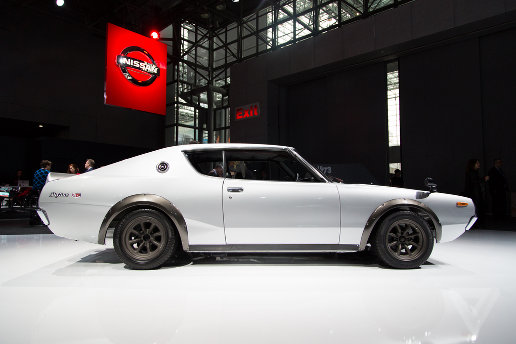 nissans vintage skylines are the most beautiful cars at the new york auto show