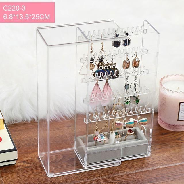 Earrings Box Earrings Display Acrylic Jewelry Display Box Earrings