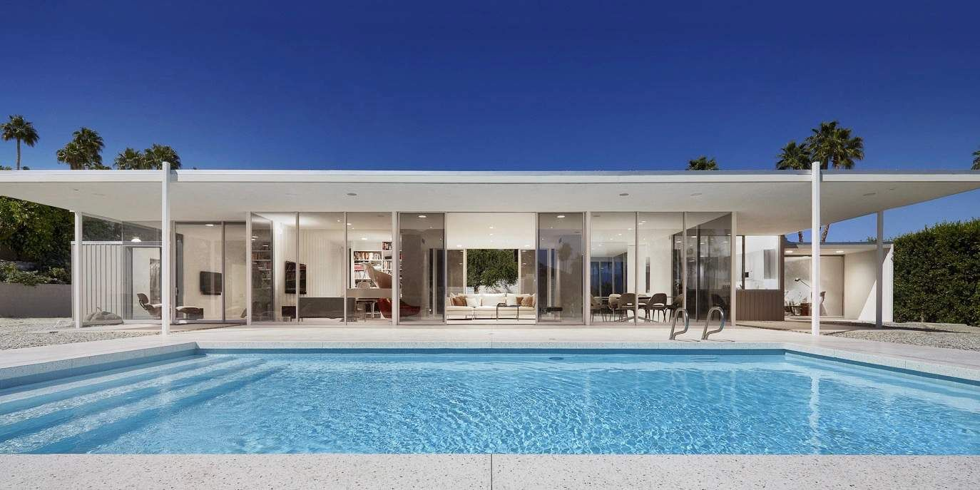 3 Mid Century Houses In Palm Springs That Are An Absolute Dream