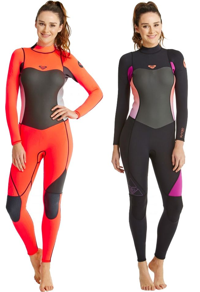 4 3mm Women s Roxy SYNCRO Full Wetsuit  1b9692912