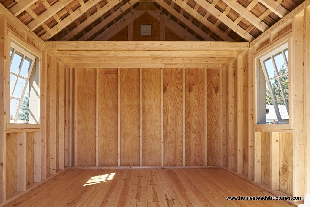 Interior Of 10x12 Premier Garden Shed Garden Shed Interiors Shed With Loft Shed Interior