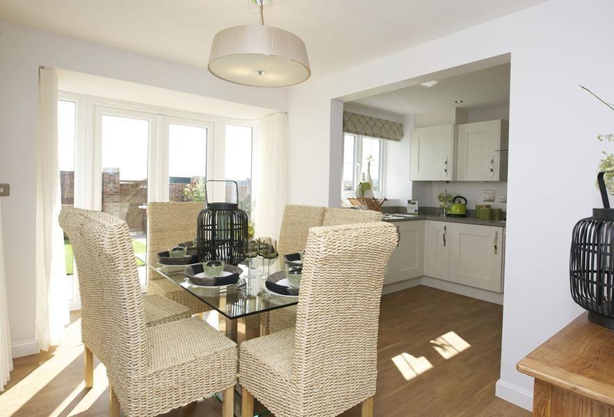 show home dining room | Barratt Homes Morpeth Show home dining room | Home: Dining ...