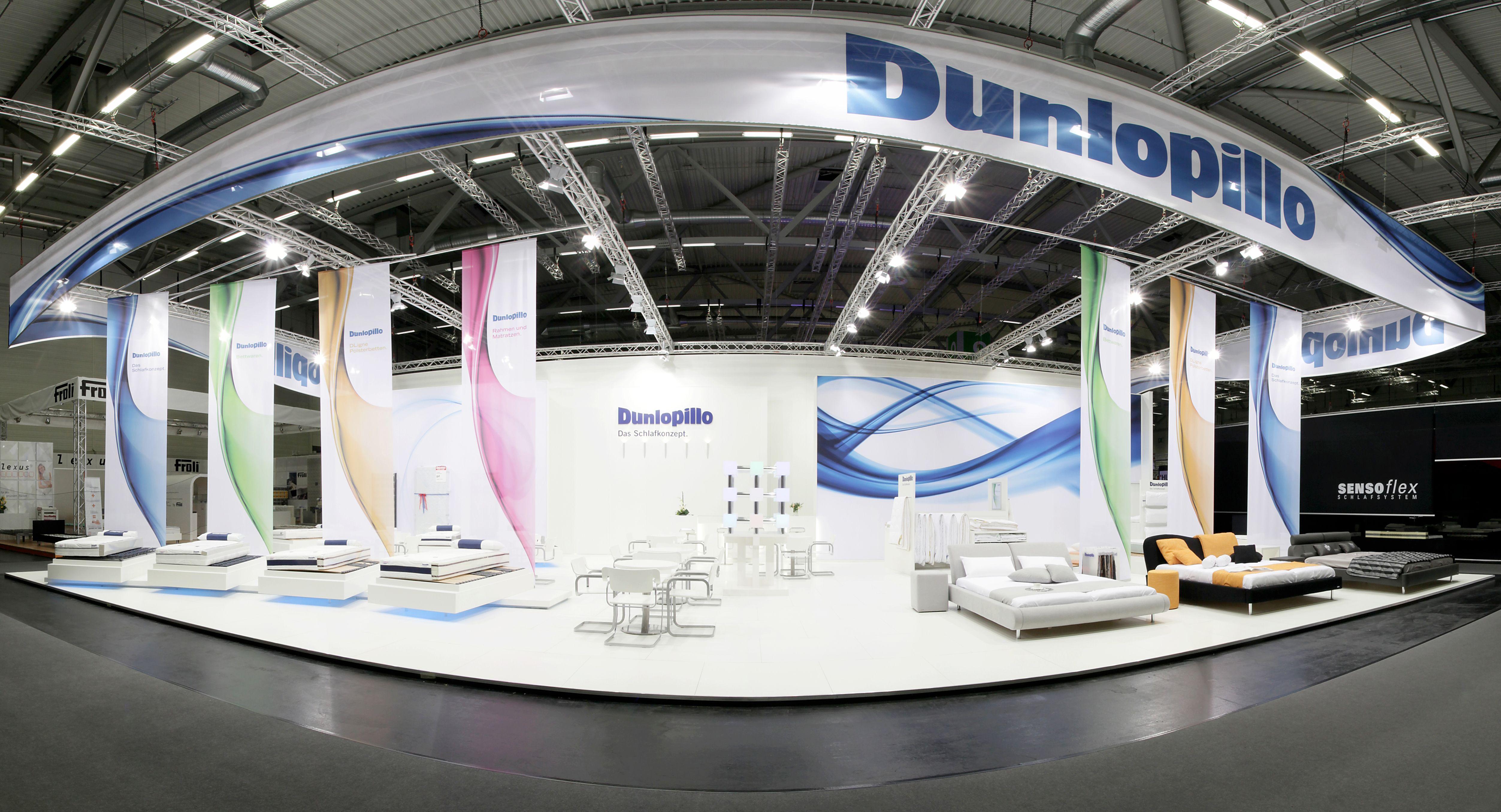 Dunlopillo, #IMM, #WUM Design, #Messestand, #Fairtrade