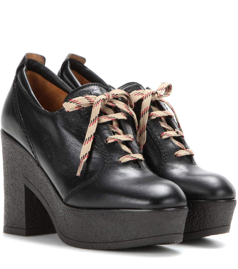 footaction cheap price Chloé Platform Lace-Up Booties sale nicekicks IceTQOh