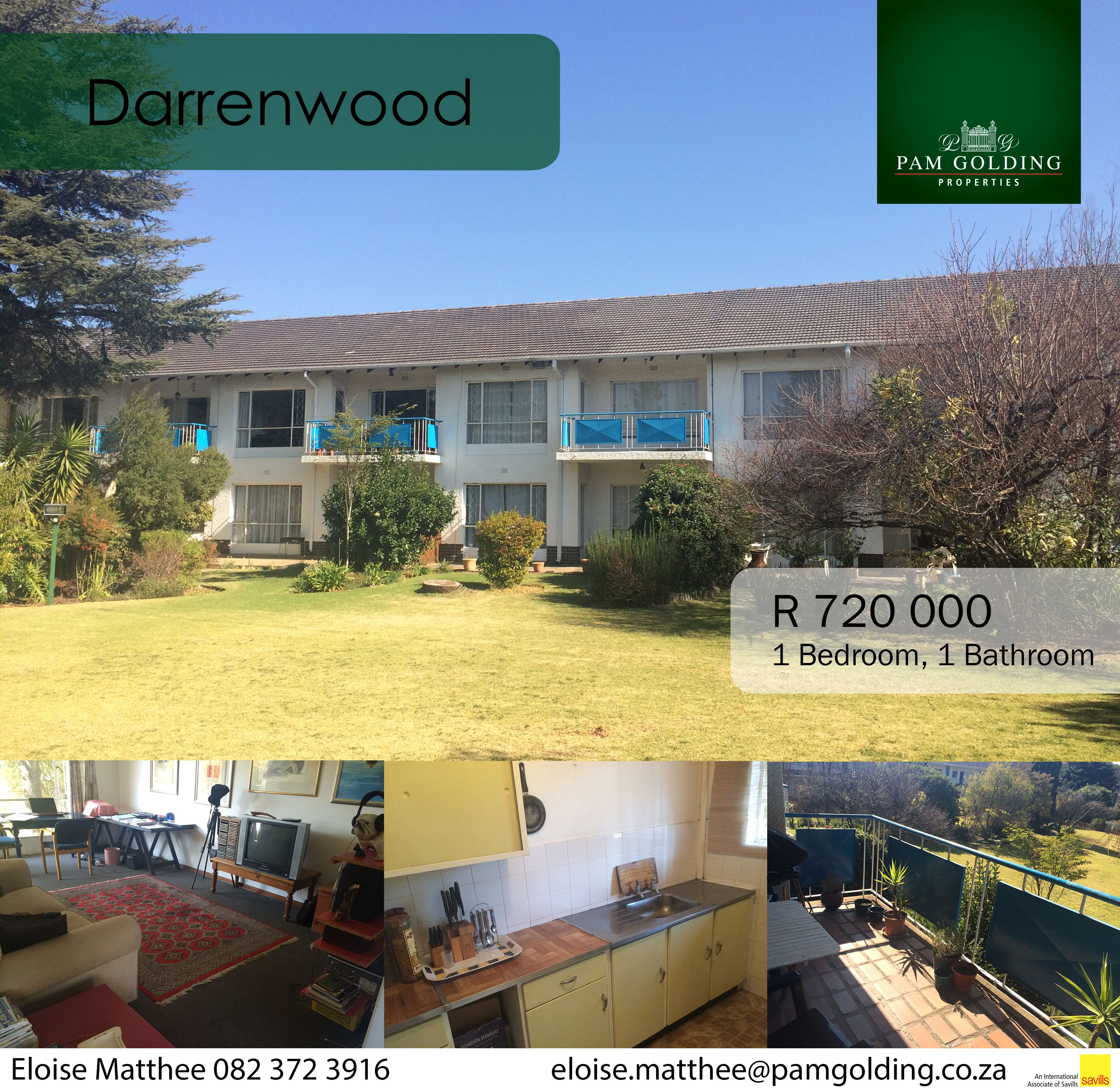 This lovely first floor unit in popular Darrenwood Heights